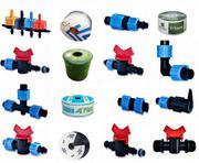 Капельный набор для полива фитинги трубка туман капельная лента 1000м